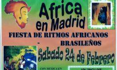 Fiesta de Ritmos Africanos y Ritmos Brasileños
