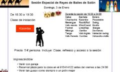 Sesión de baile de Salon en Reyes en Madid