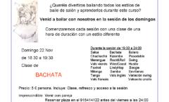 Sesión Bailes de Salón en Madrid