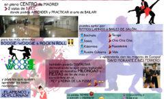 Aprender a bailar en nuestras salas en Madrid
