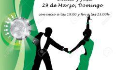 Fiesta organizada por los profesores de baile