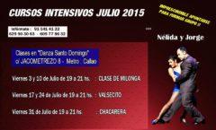 Talleres intensivos de baile en Julio
