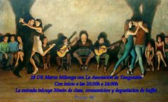 Milonga con la asociación Tangoneón