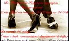 Taller, clases, fiesta Tangoneon
